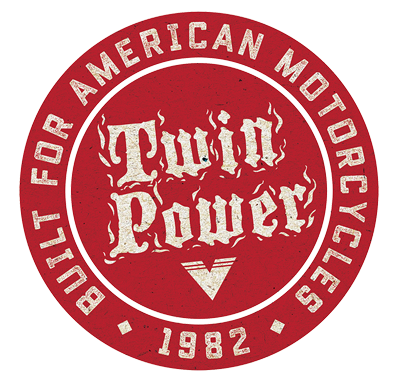 Twin Power Badge