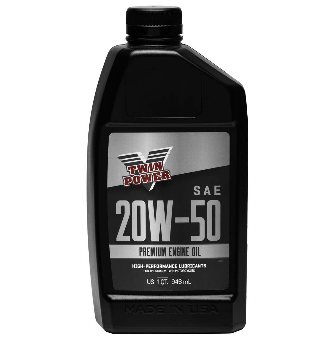 Twin Power Premium Engine Oil 20W50 - 1 qt