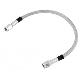 Stainless Steel Clear-Coated Universal Brake Hoses