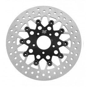 Floating Mesh Rotors Black