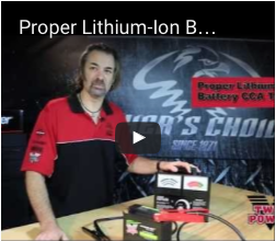 Proper Lithium-Ion Battery CCA Testing | Twin Power